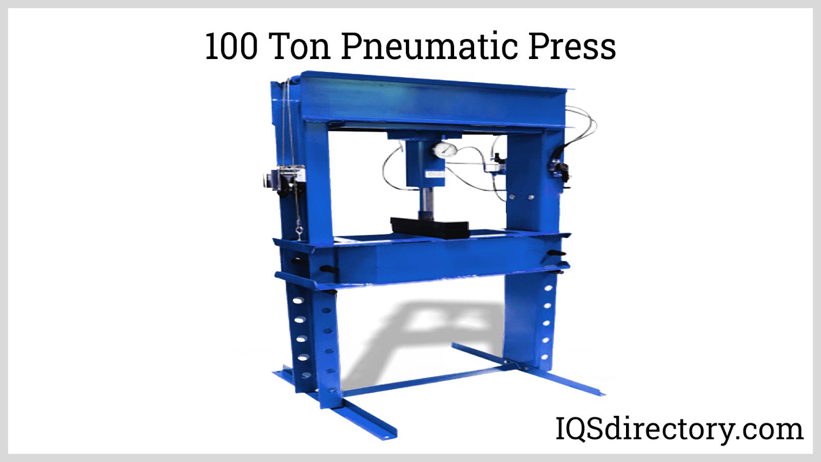 100 Ton Pneumatic Press