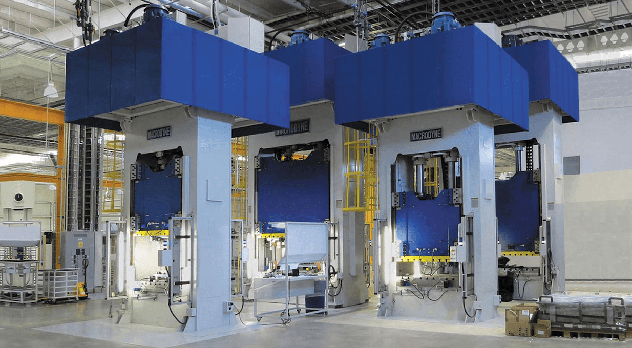Heavy Duty Hydraulic Presses from Macrodyne