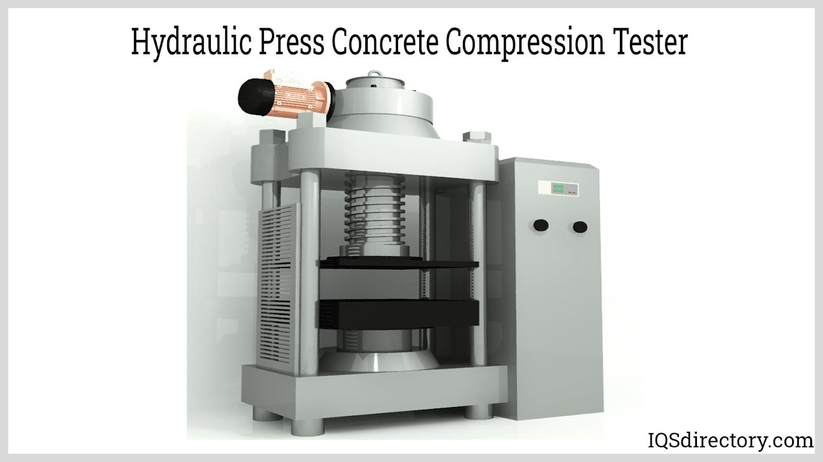 Hydraulic Press Concrete Compression Tester