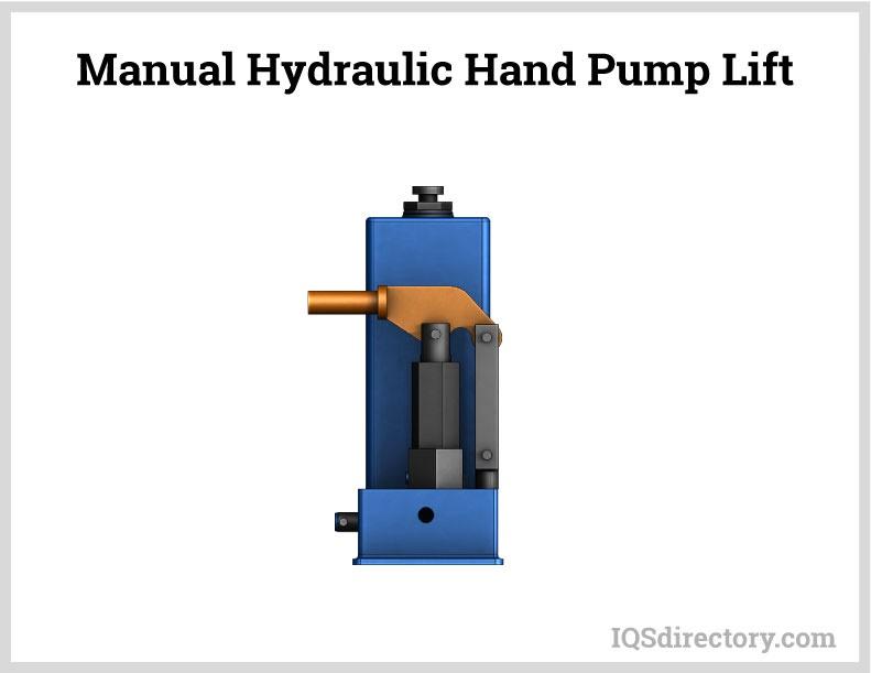 Manual Hydraulic Hand Pump Lift