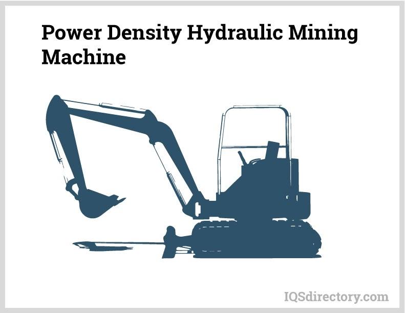 Power Density Hydraulic Mining Machine