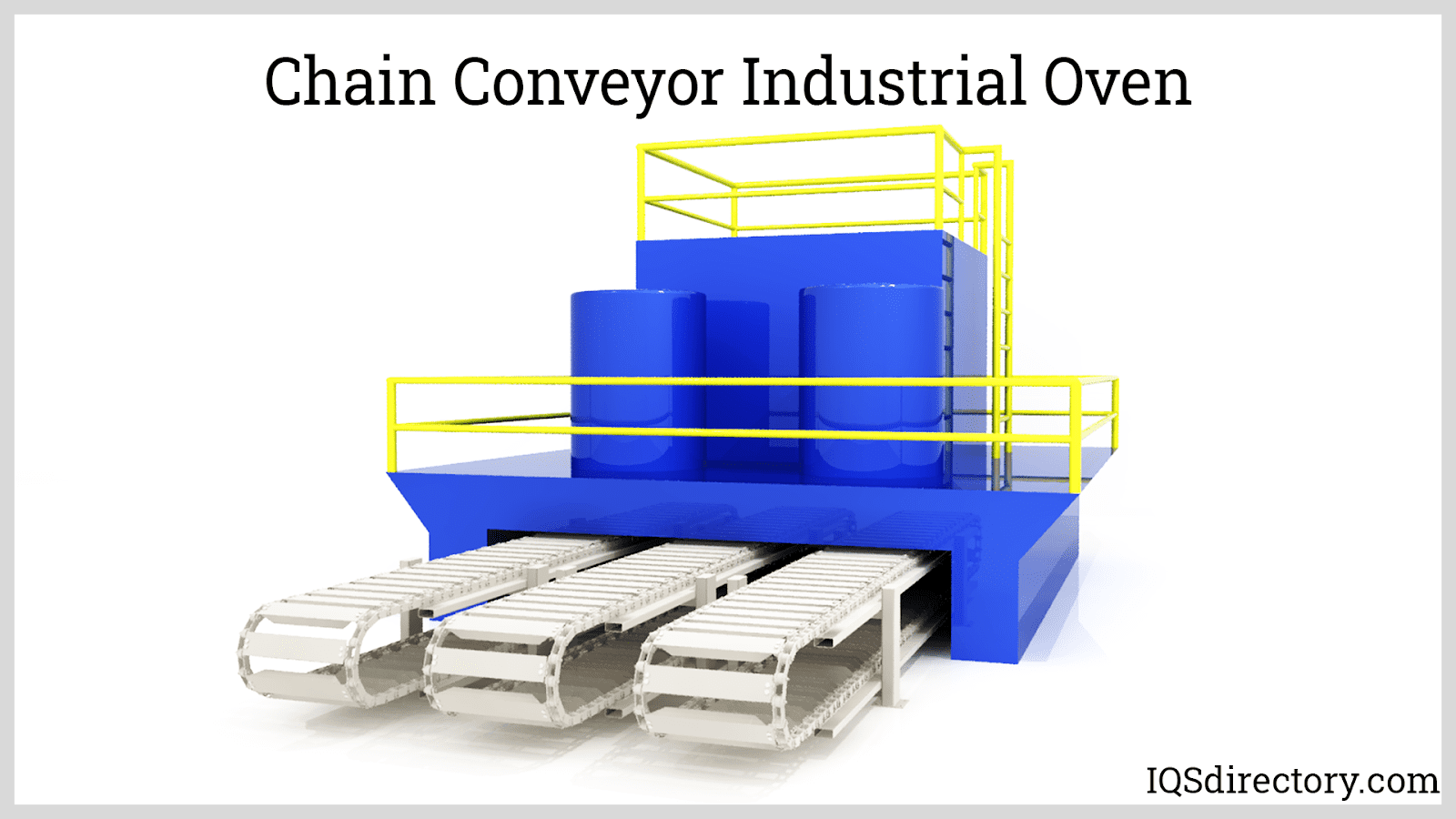 Chain Conveyor Industrial Oven