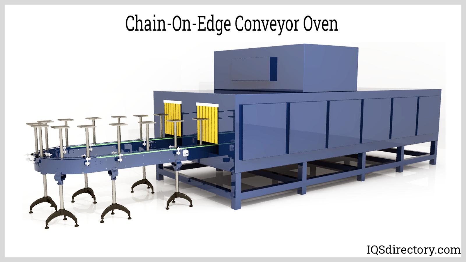 Chain-On-Edge Conveyor Oven