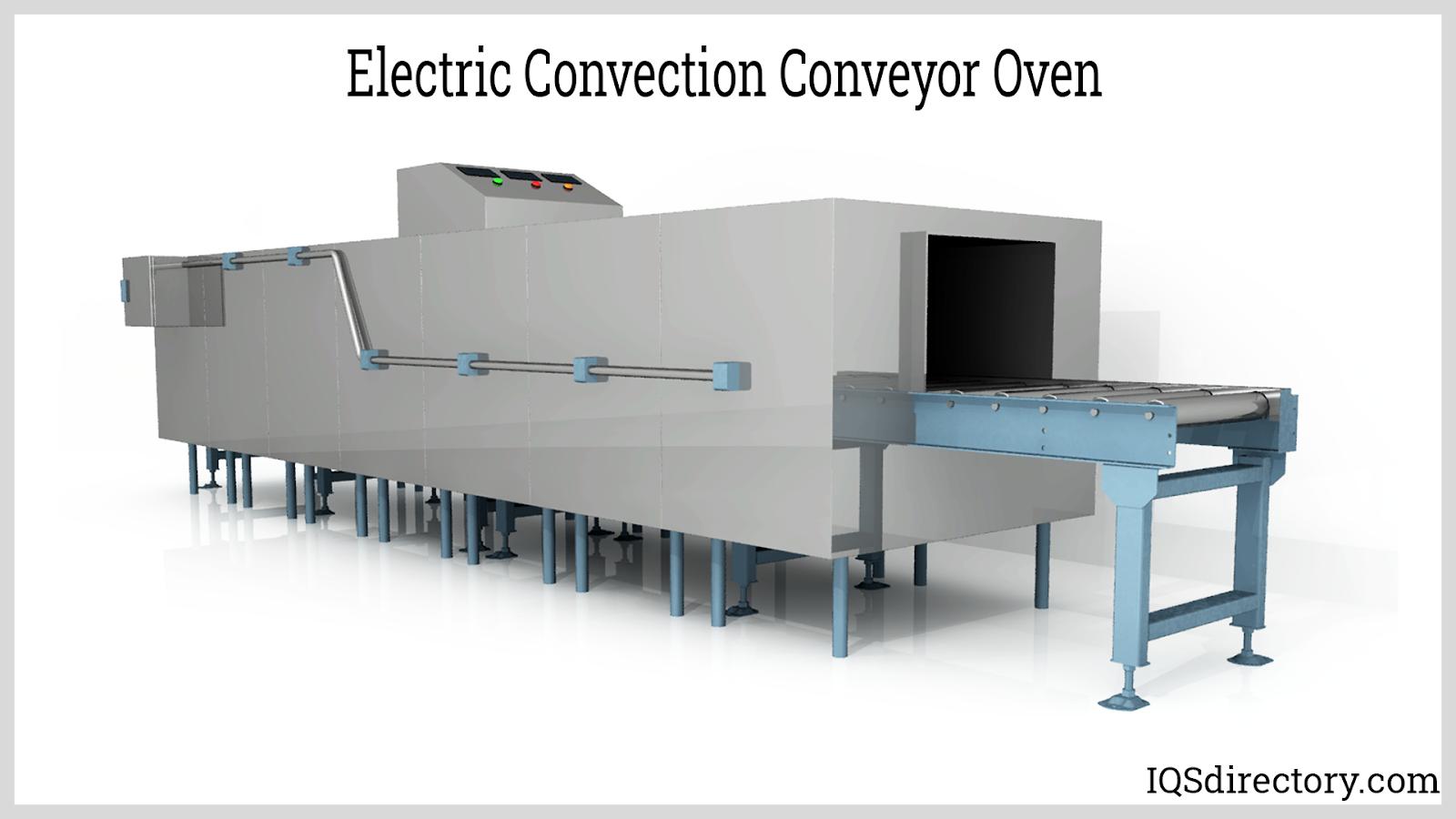 Electric Convection Conveyor Oven