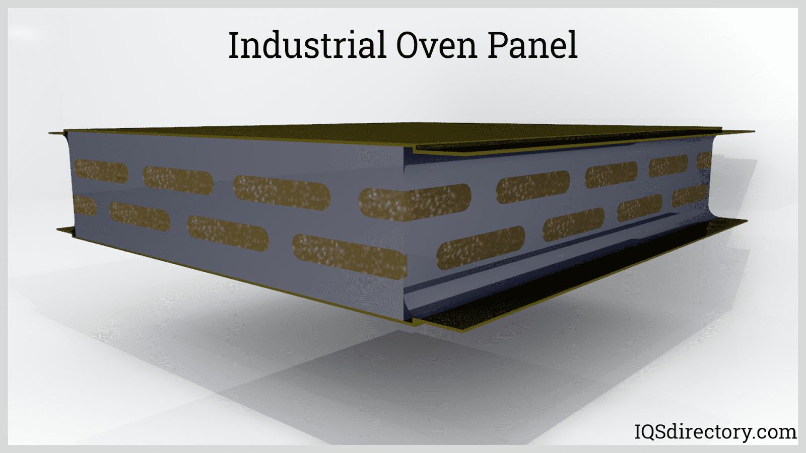 Industrial Oven Panel