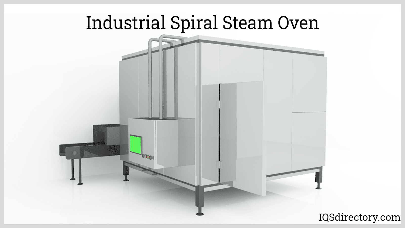 Industrial Spiral Steam Oven