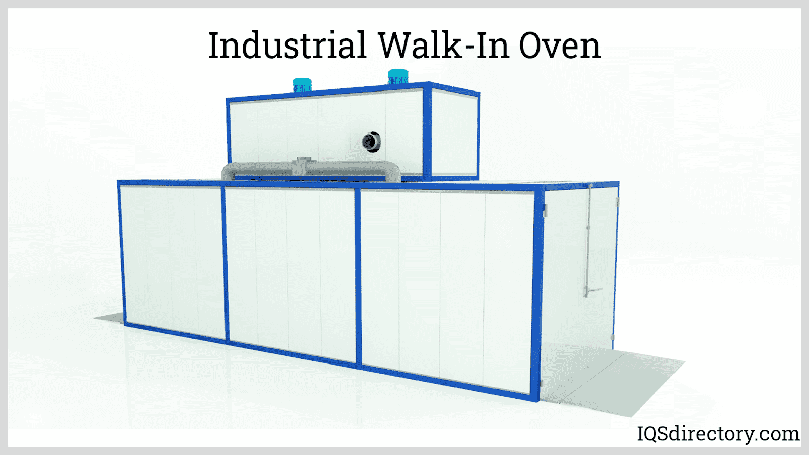 Industrial Walk-In Oven