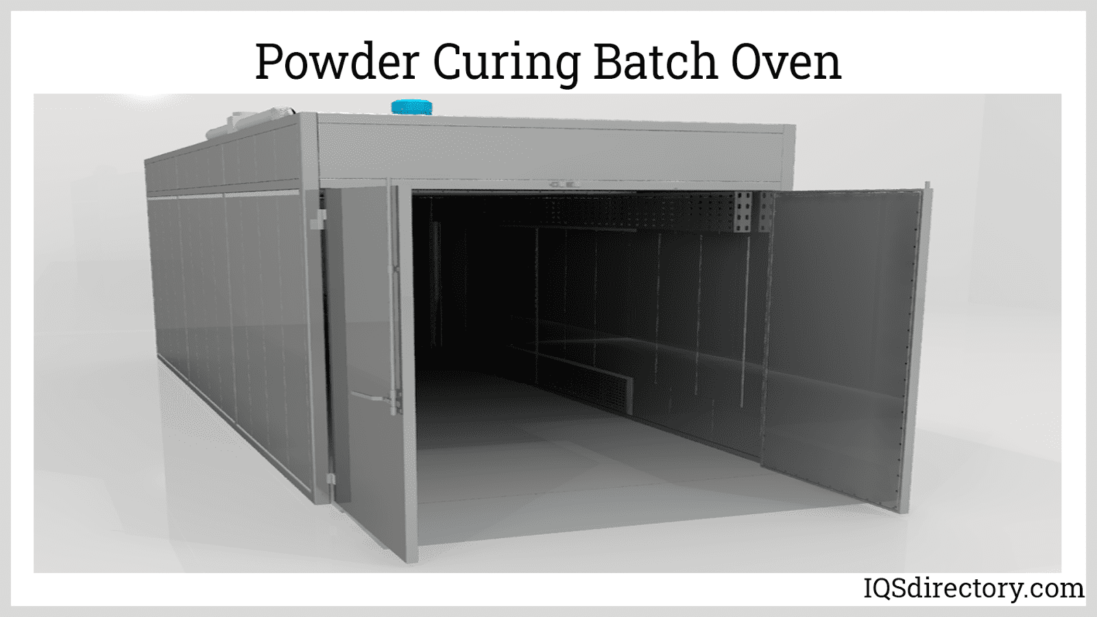Powder Curing Batch Oven