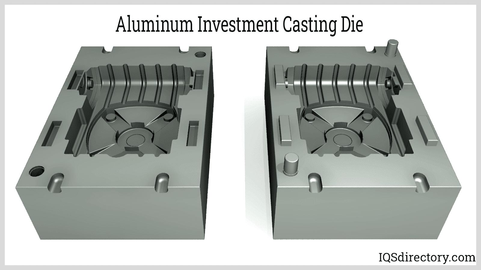 Aluminum Investment Casting Die