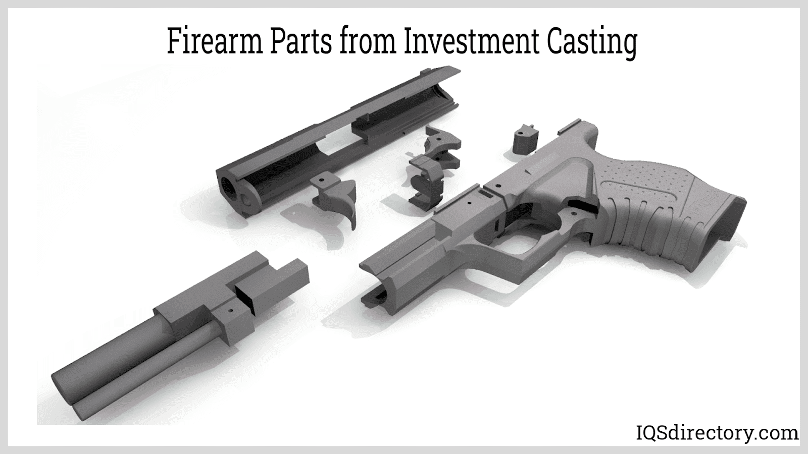 Firearm Parts from Investment Casting
