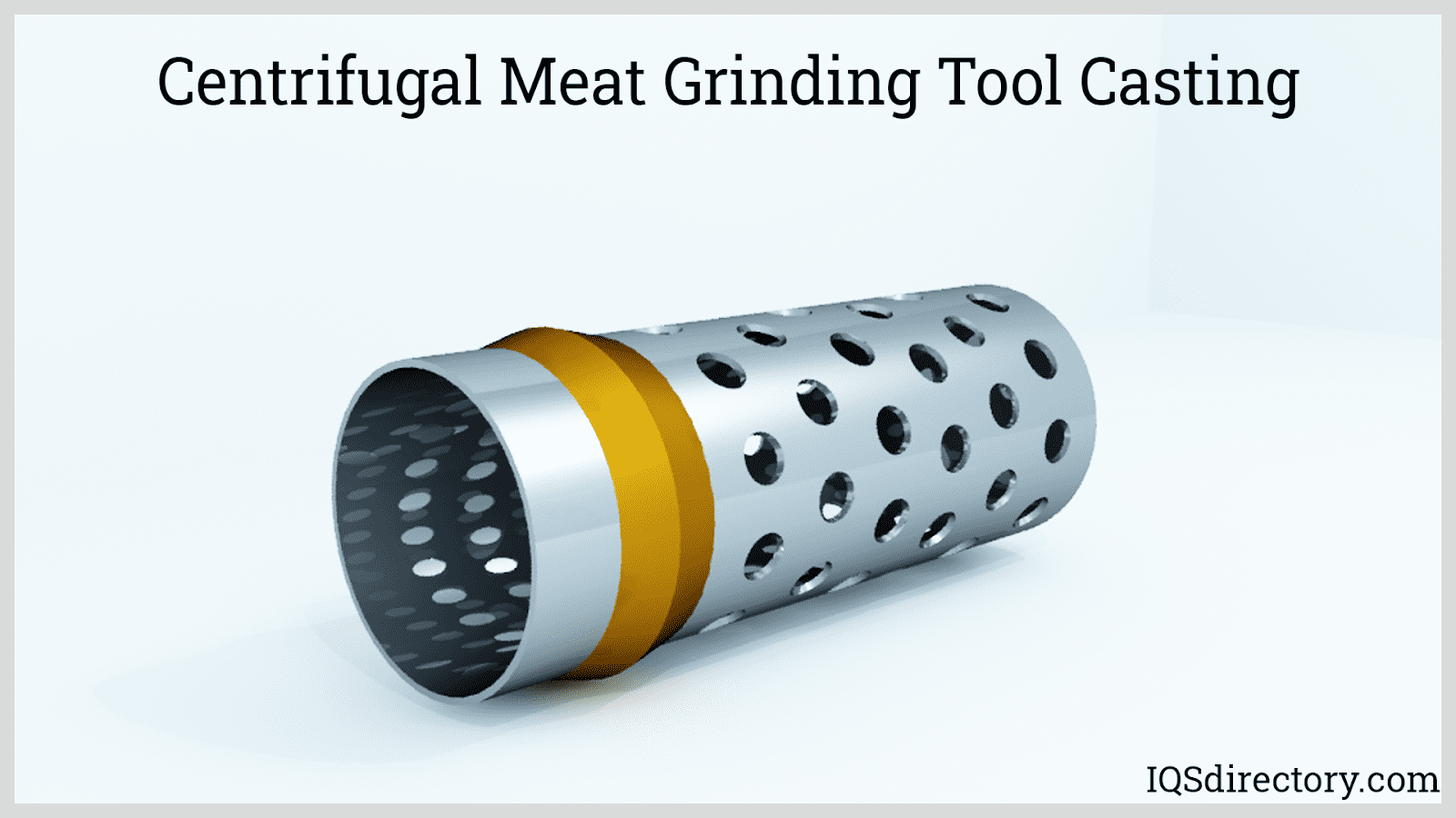 Centrifugal Meat Grinding Tool Casting