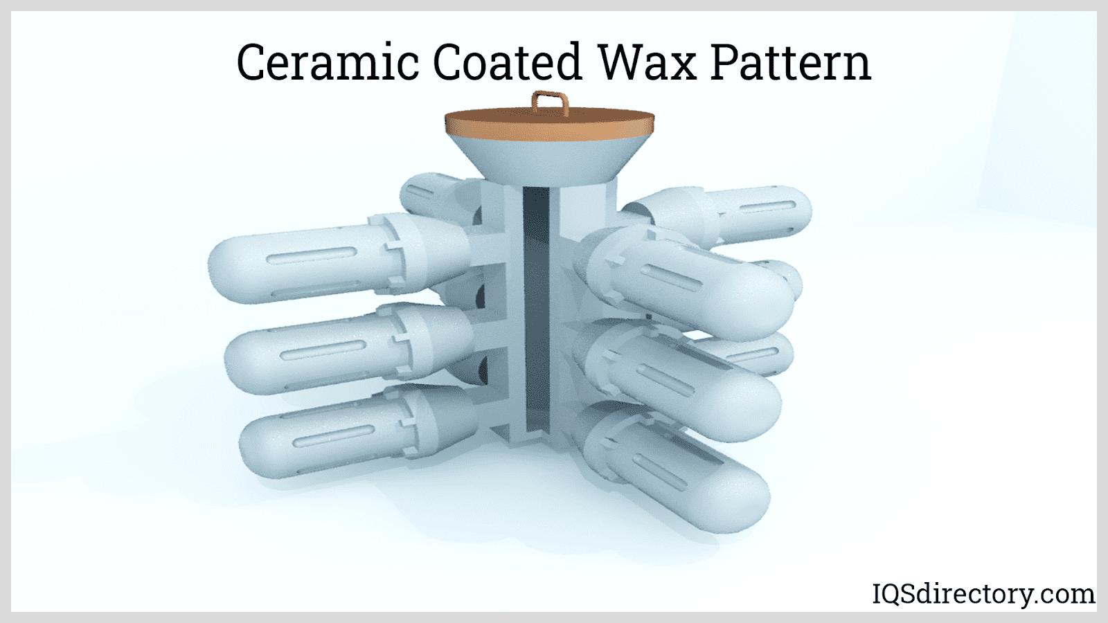 Ceramic Coated Wax Pattern