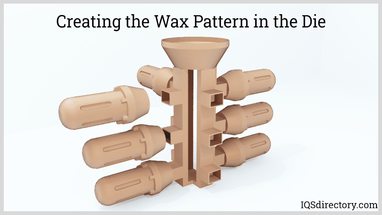 Creating the Wax Pattern in the Die