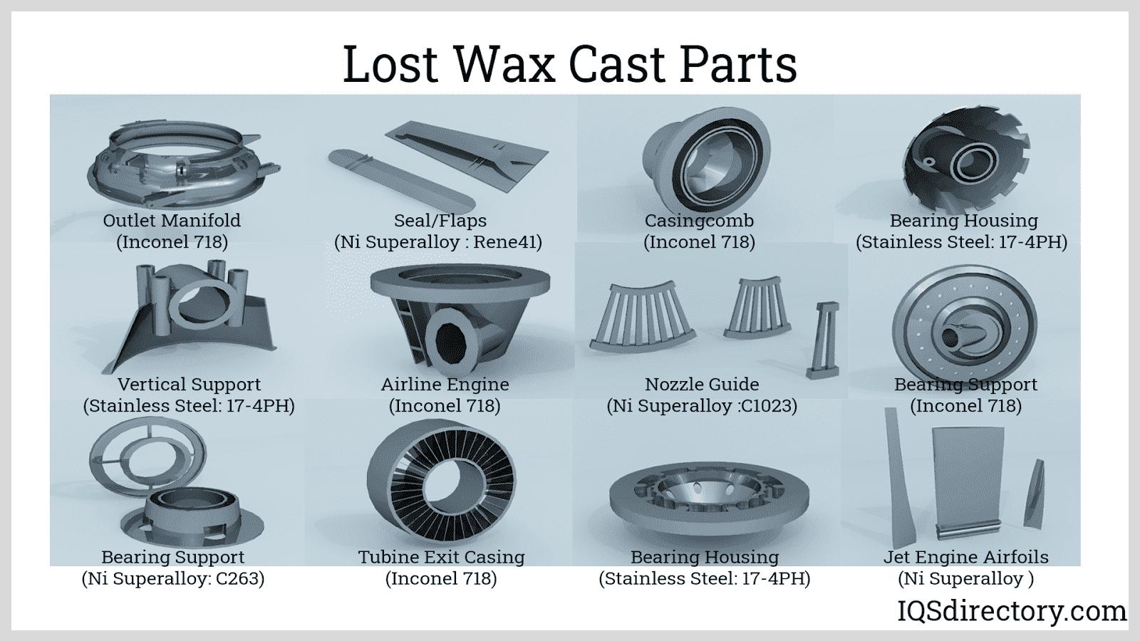 Lost Wax Cast Parts