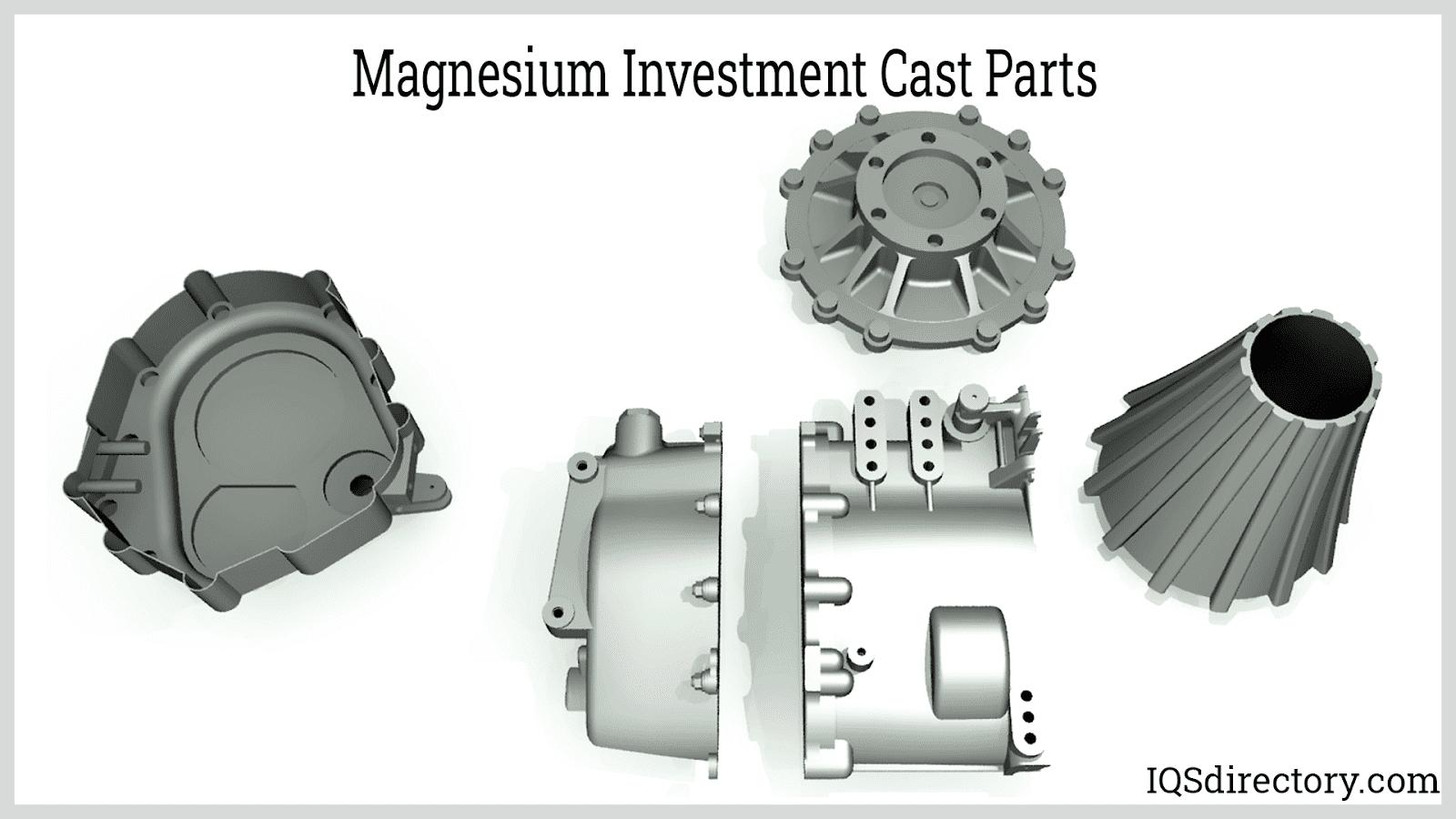 Magnesium Investment Cast Parts