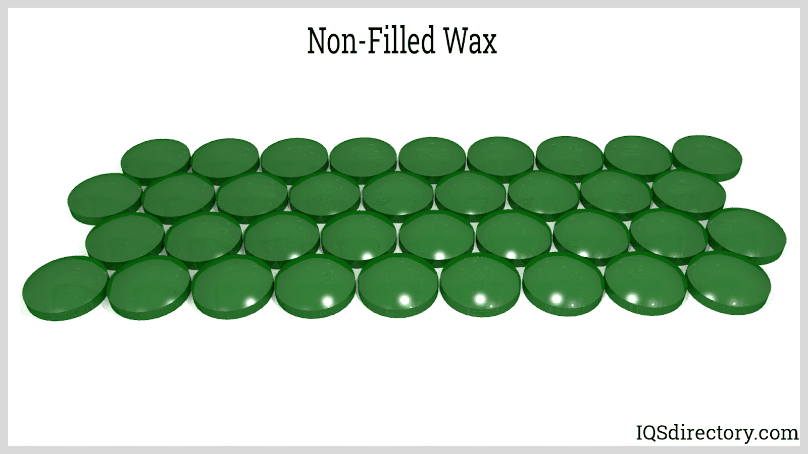 Non-Filled Wax
