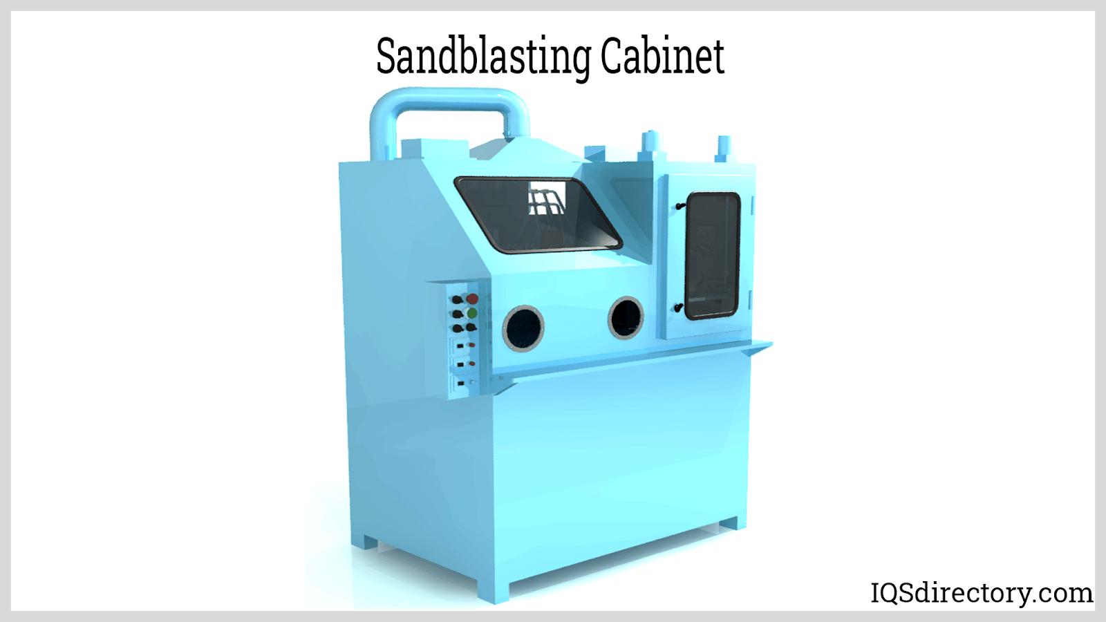 Sandblasting Cabinet