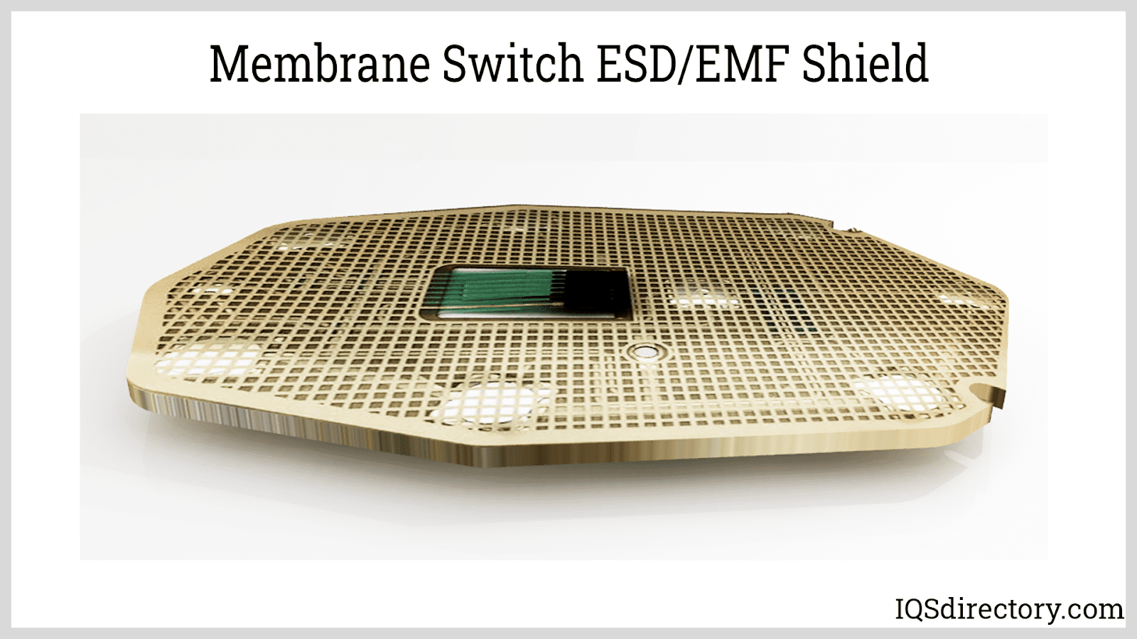 Membrane Switch ESD/EMF Shield