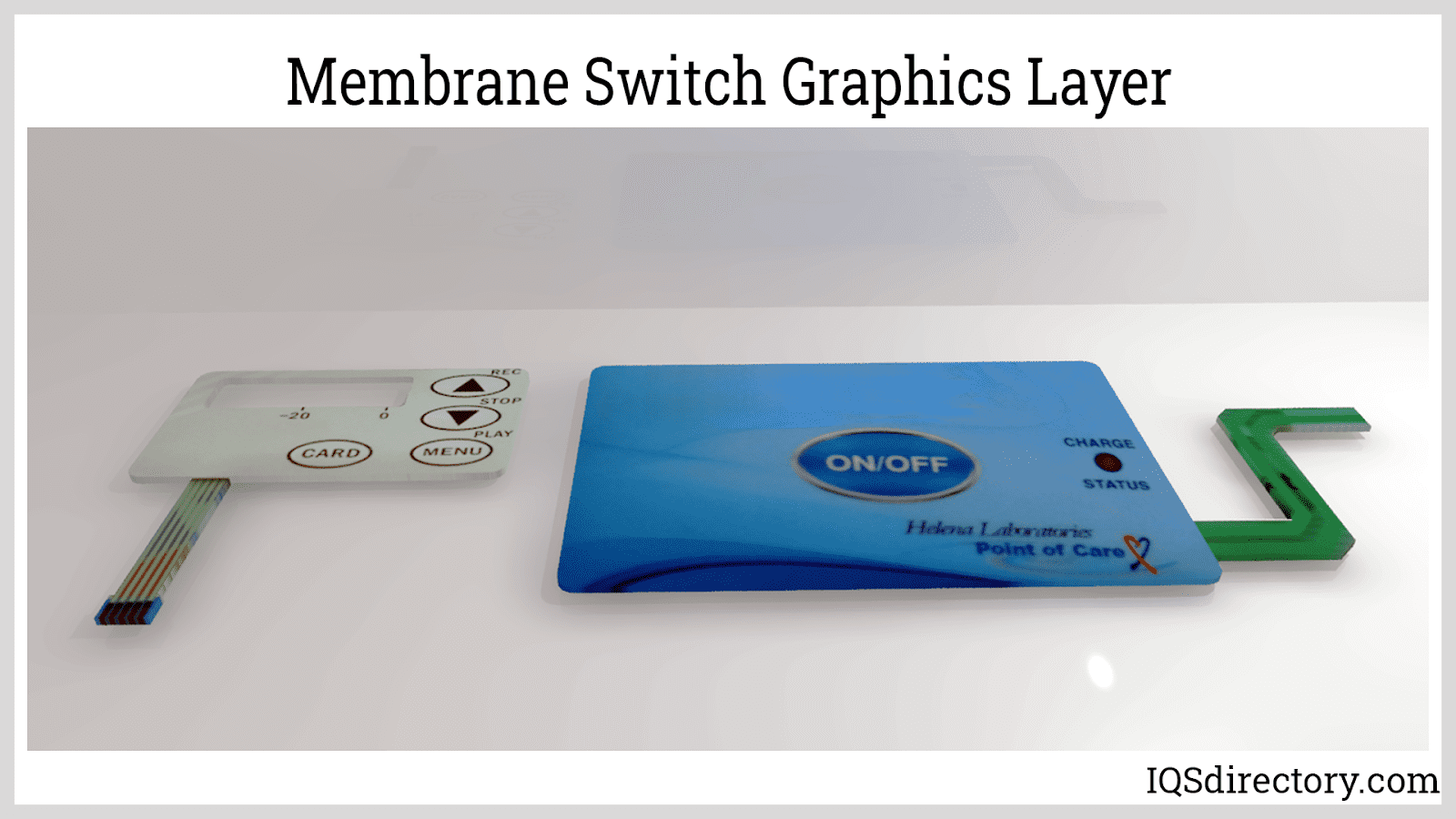 Membrane Switch Graphics Layer