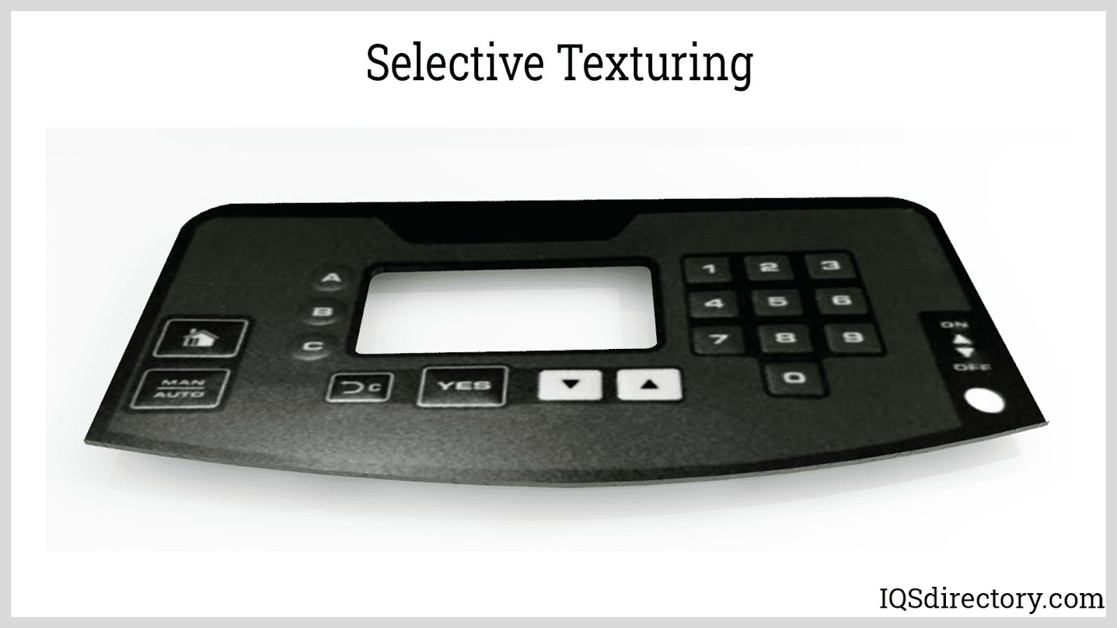 Selective Texturing