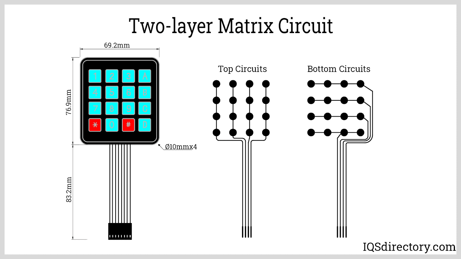 Two-layer Matrix Circuit
