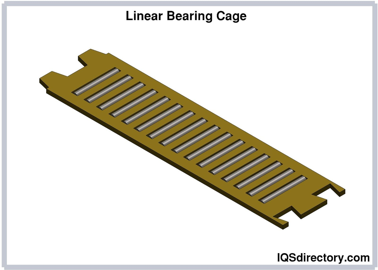 Linear Bearing Cage