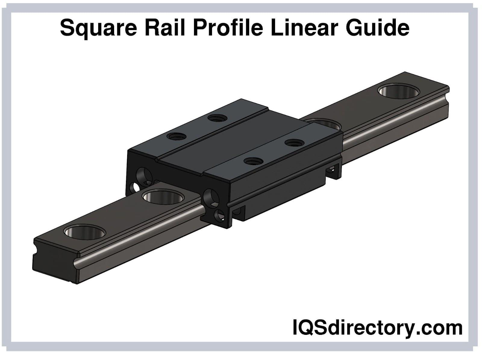 Square Rail Profile Linear Guide