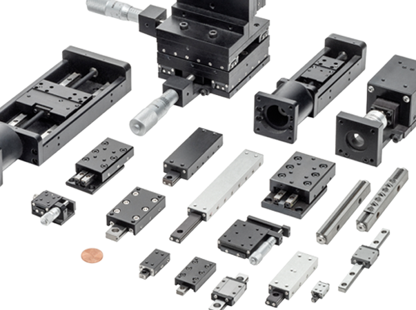 Linear Motion Slides (from Del-Tron Precision, Inc)