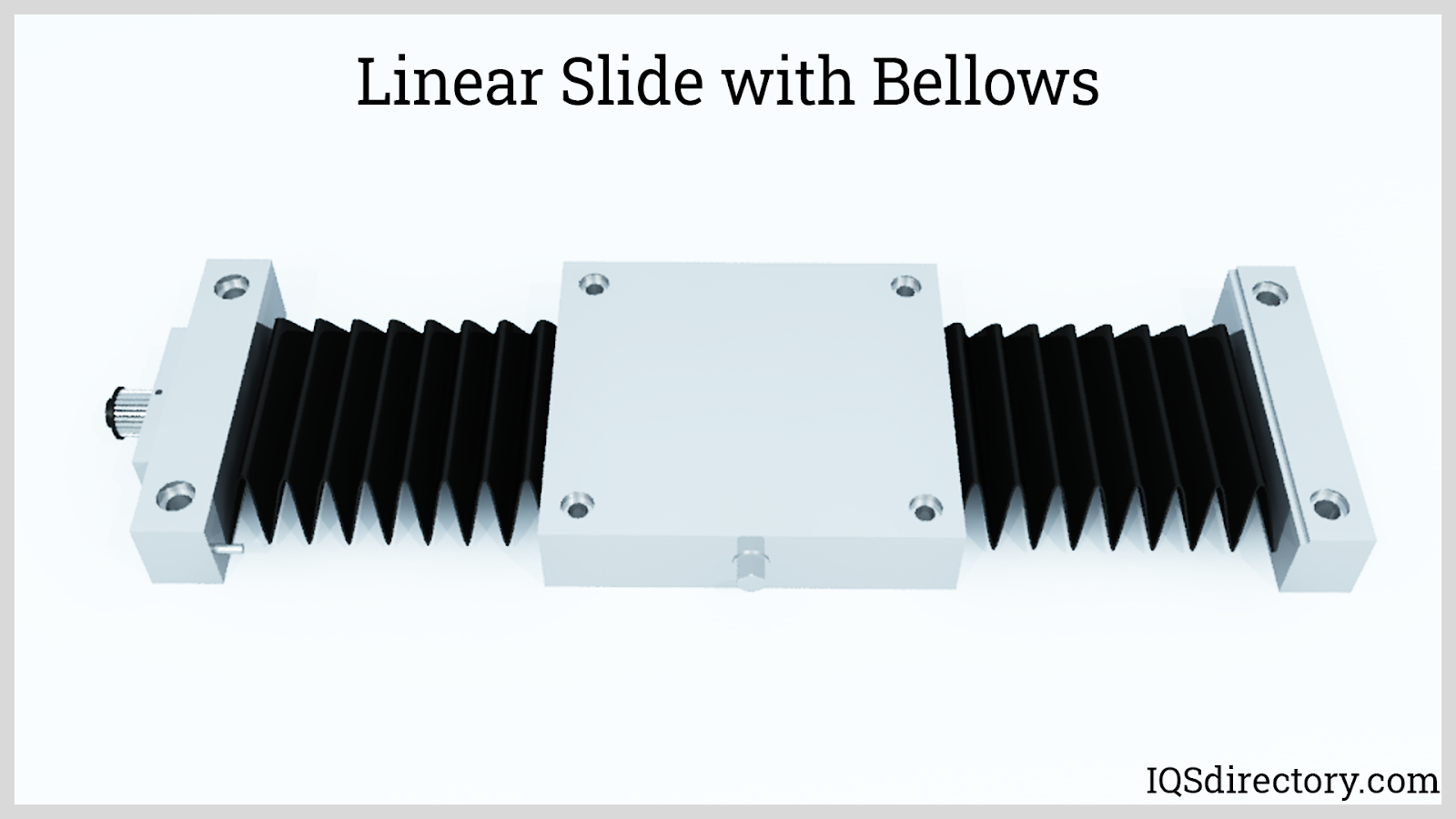 Linear Slide with Bellows