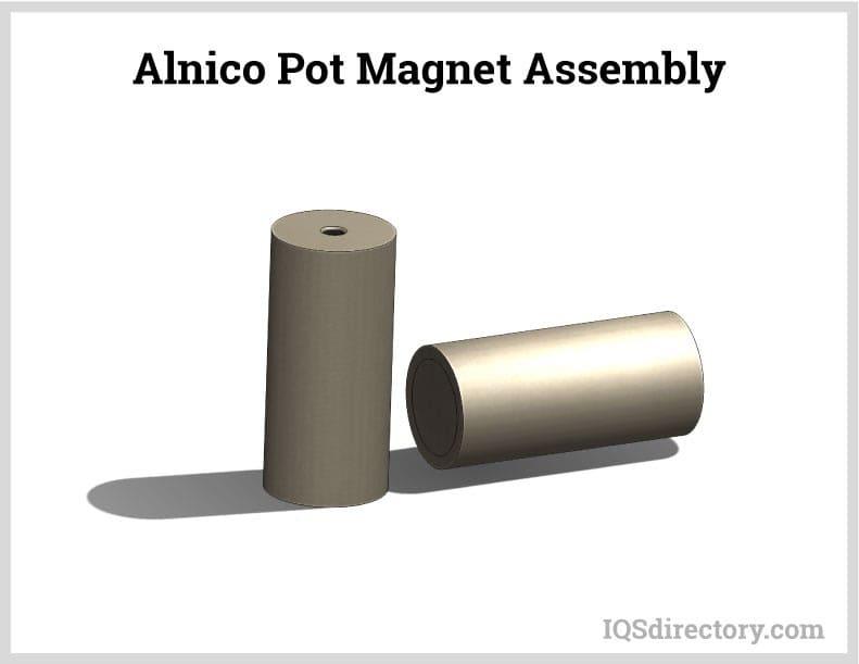 Alnico Pot Magnet Assembly