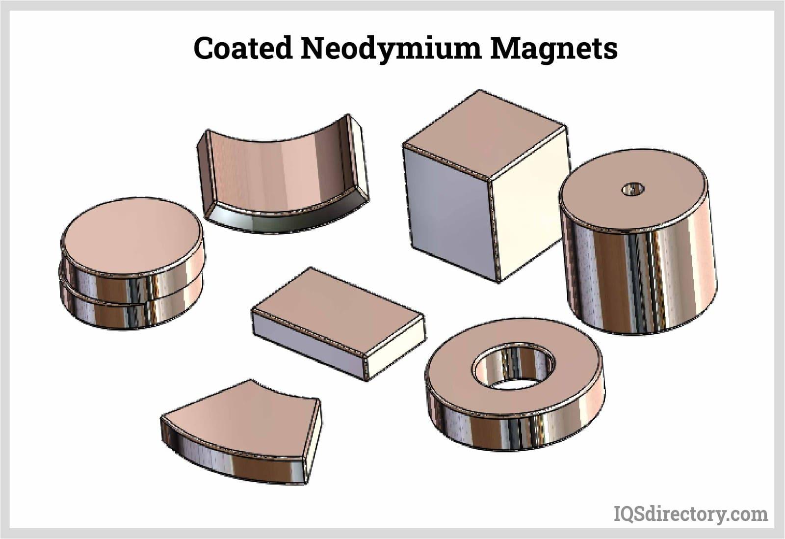 Coated Neodymium Magnets