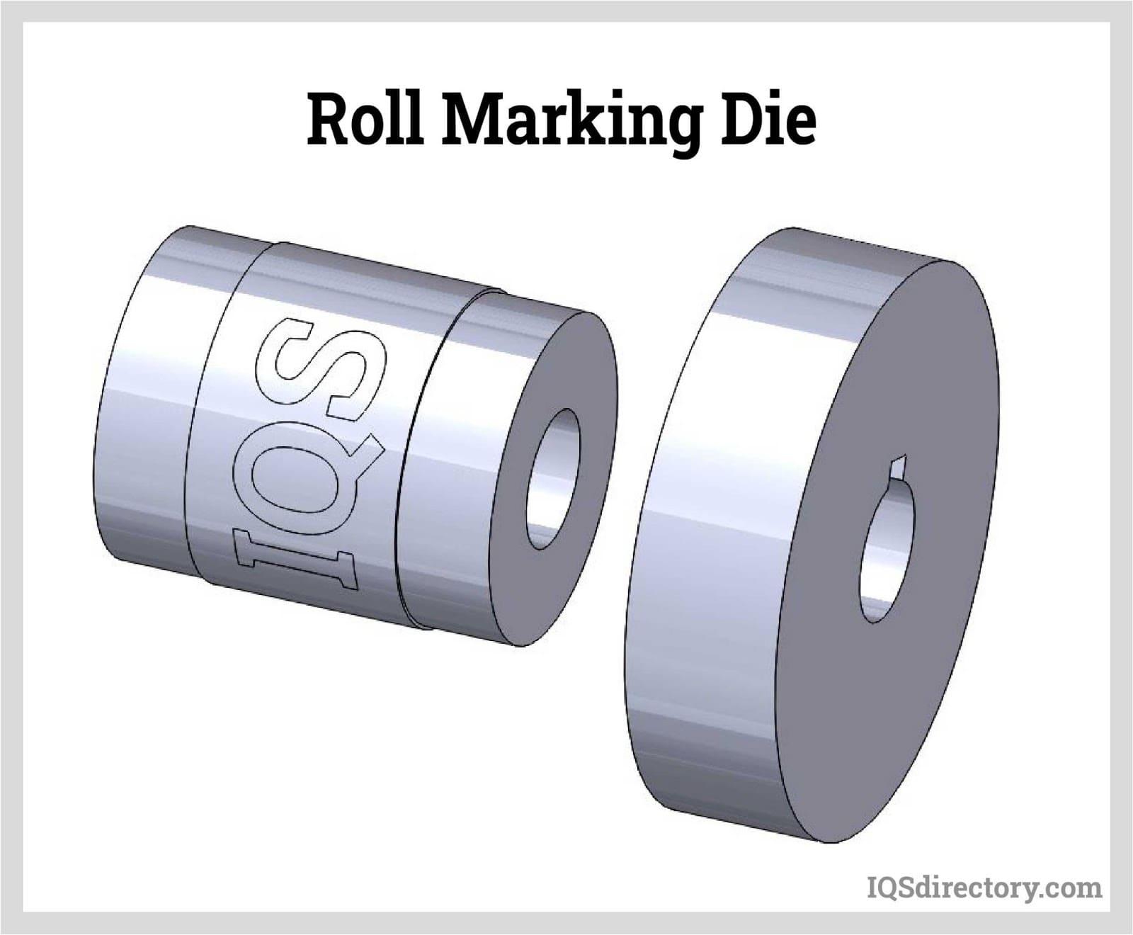 Roll Marking Die