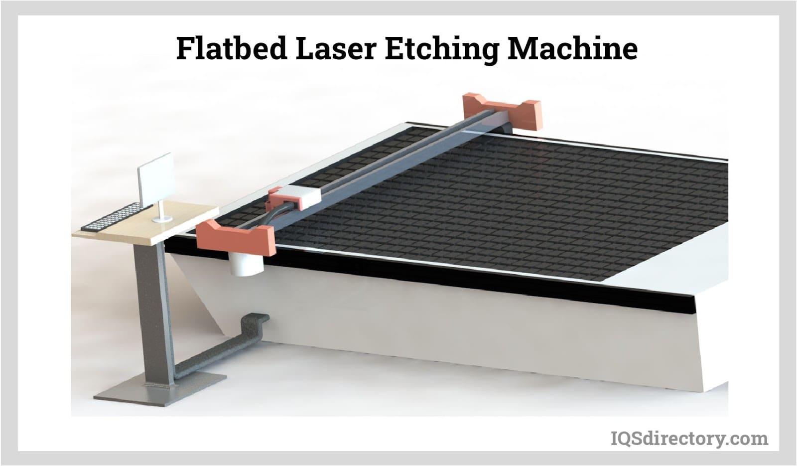 Flatbed Laser Etching Machine