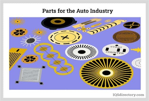 Parts for the Auto Industry