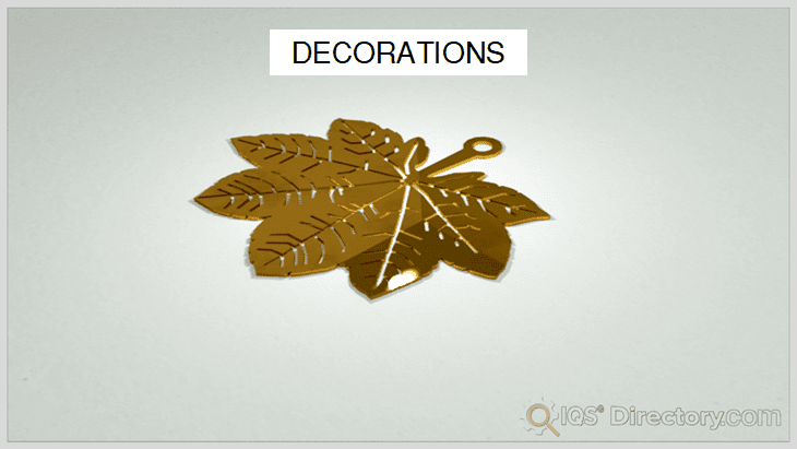 Photochemically Etched Decorations