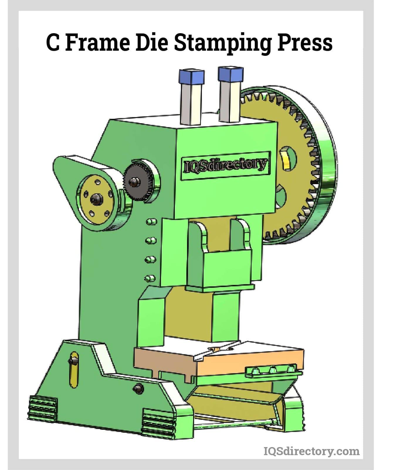 C Frame Die Stamping Press