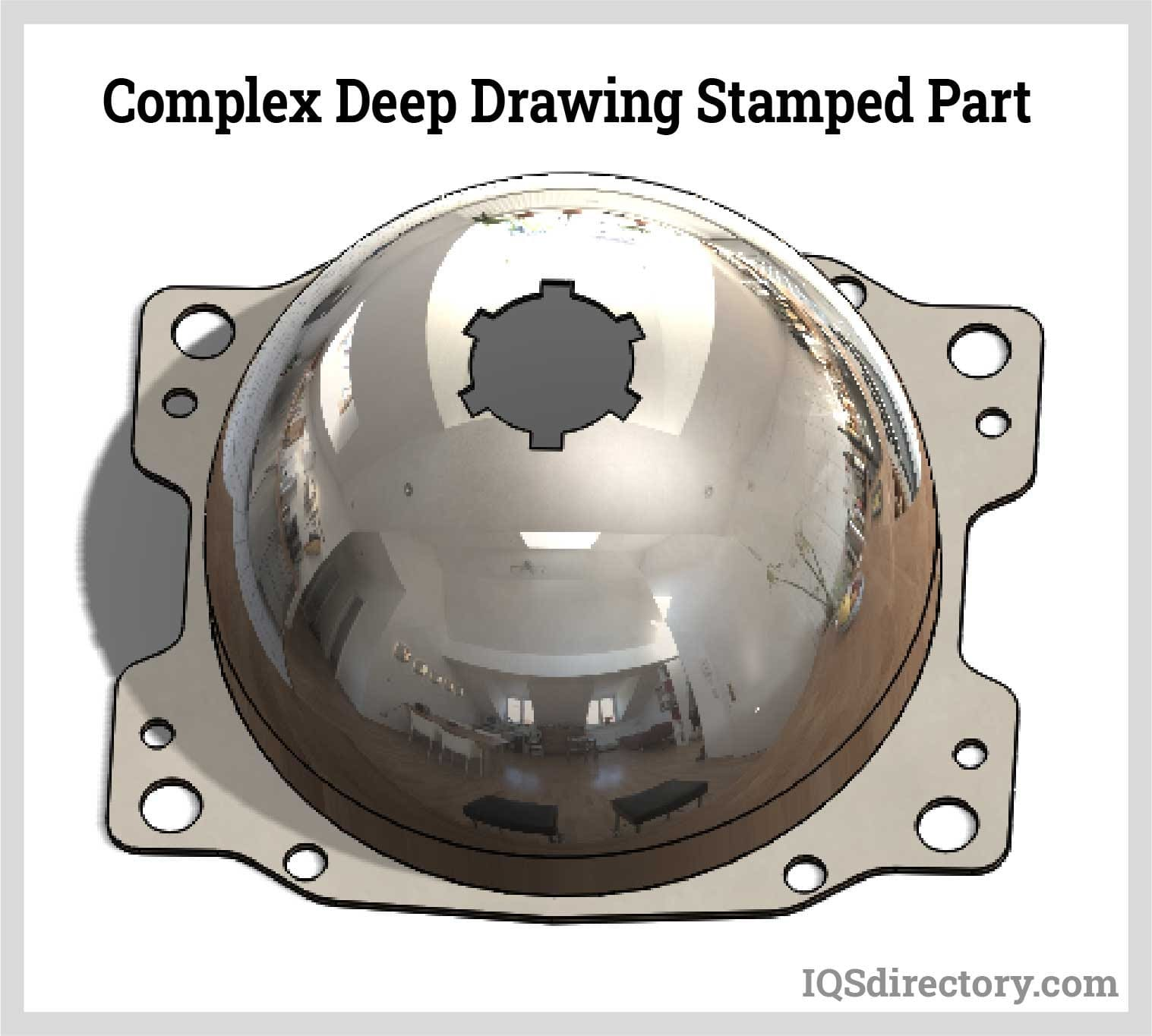 Complex Deep Drawing Stamped Part