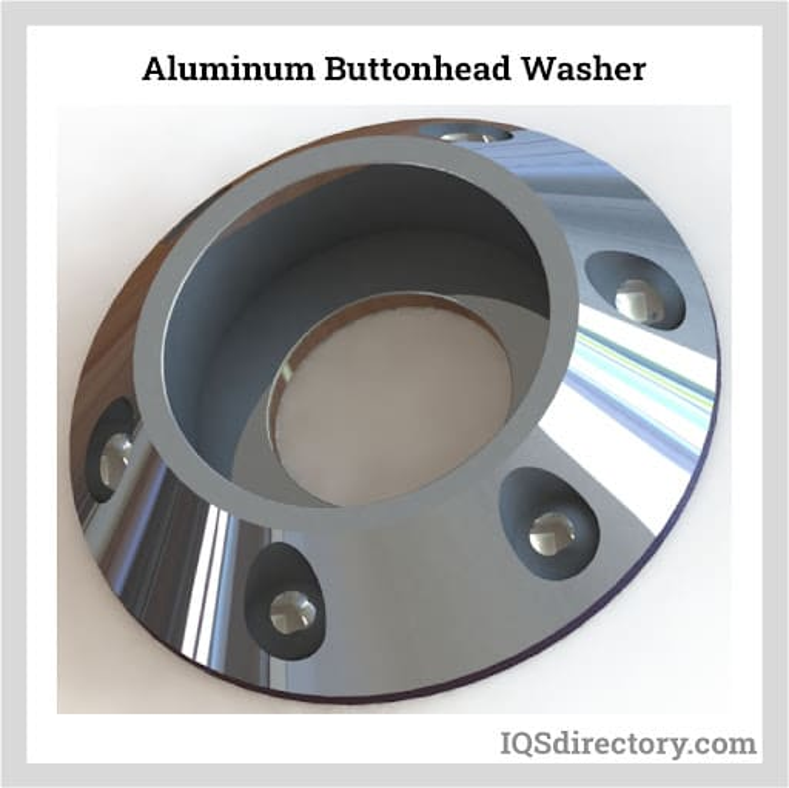 Aluminum Buttonhead Washer