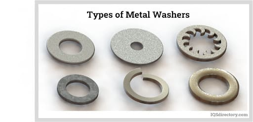 Types of Metal Washers