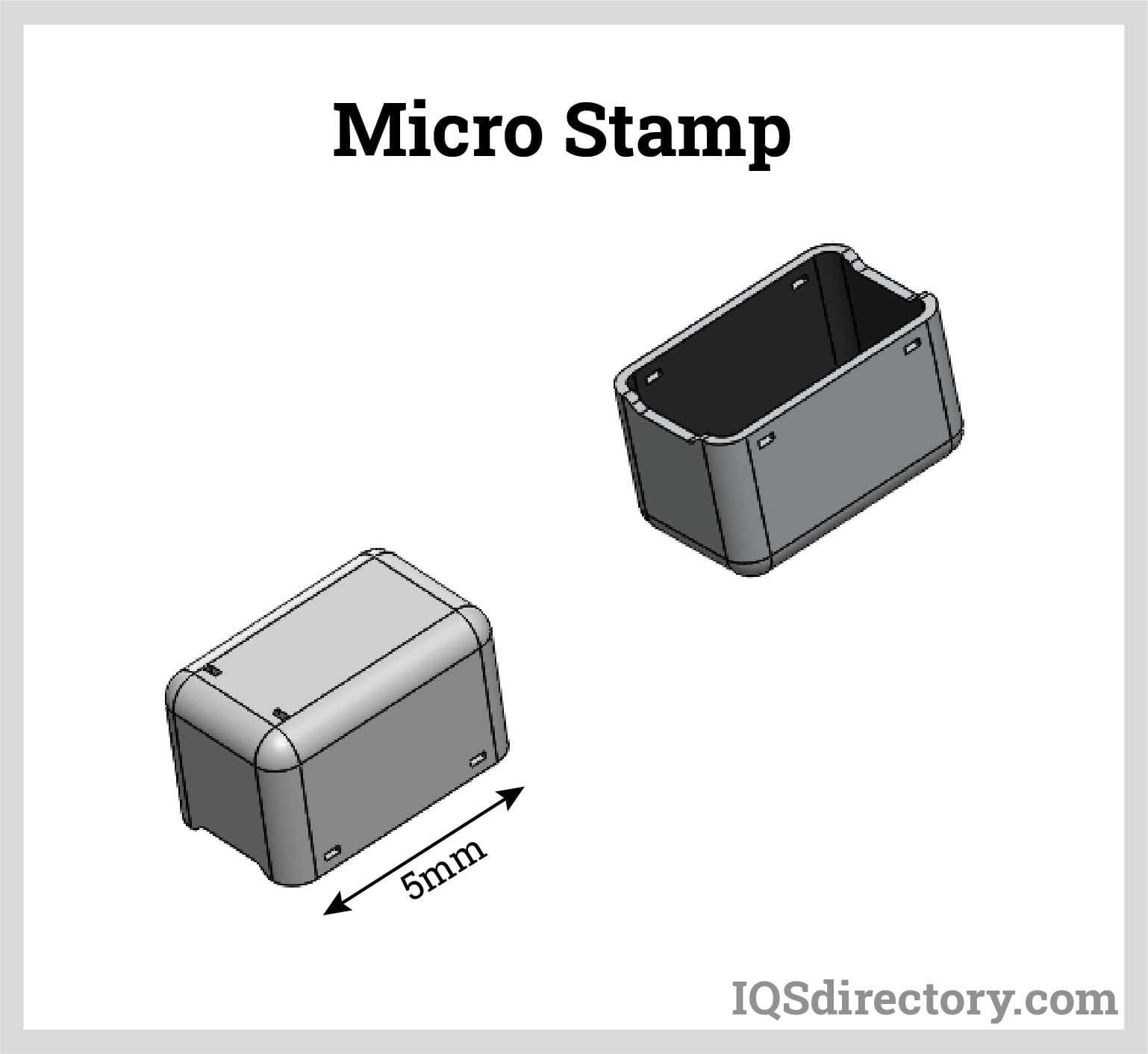 Micro Stamp Die