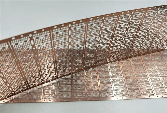 Progressive Die Stamped Micro Circuit