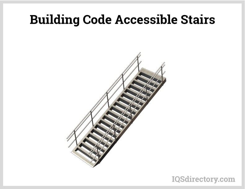 Building Code Accessible Stairs