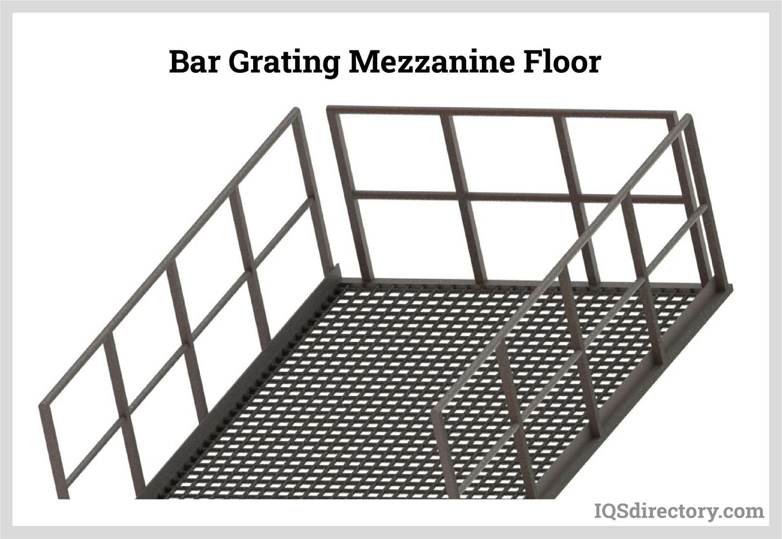 Bar Grating Mezzanine Floor