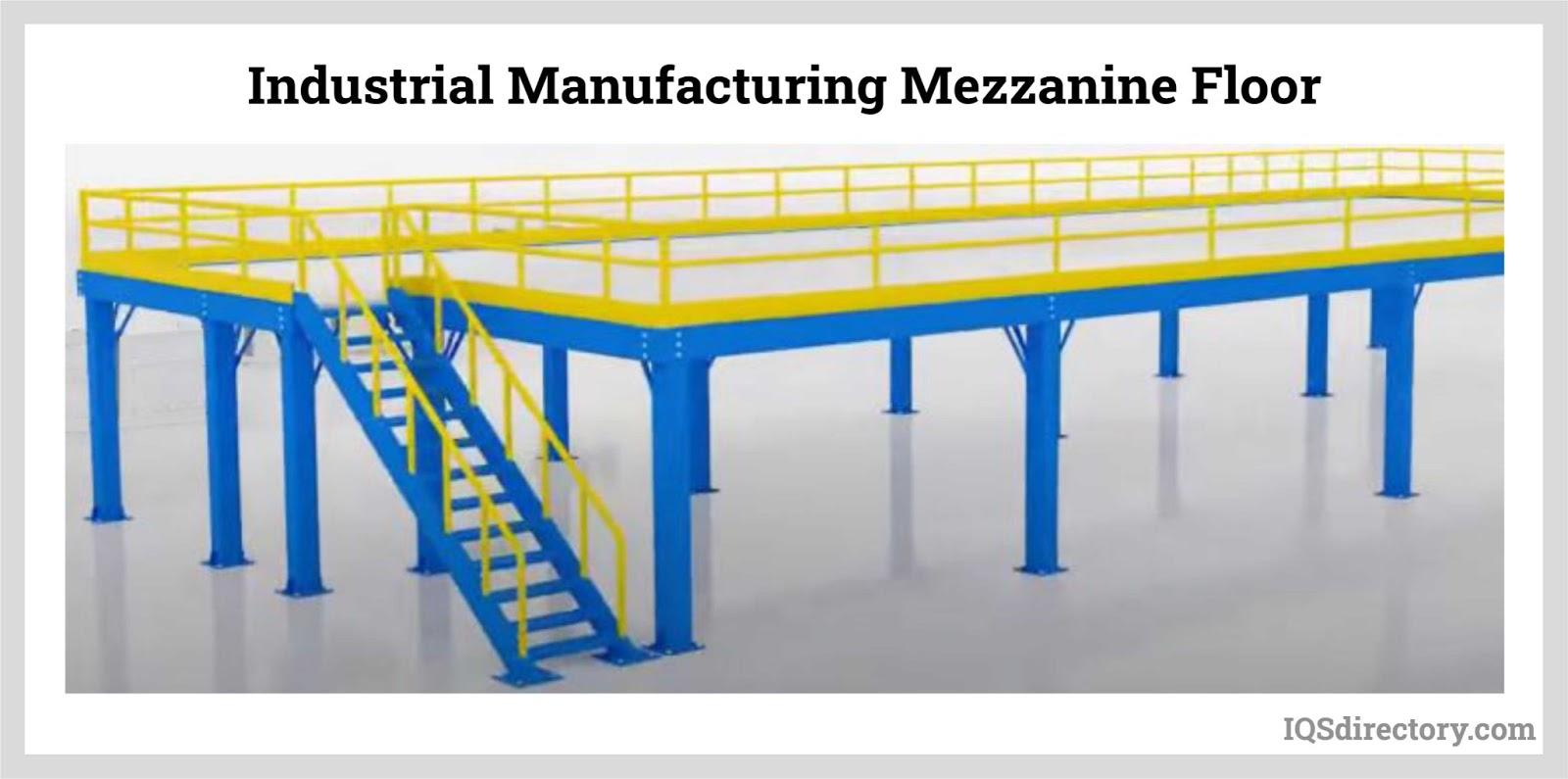 Industrial Manufacturing Mezzanine Floor