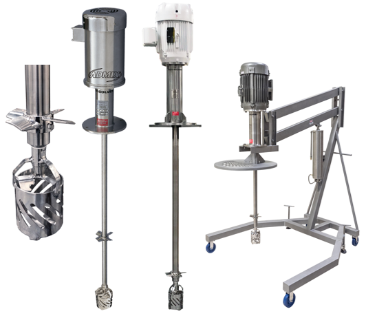 Rotosolver® Mixers from Admix®