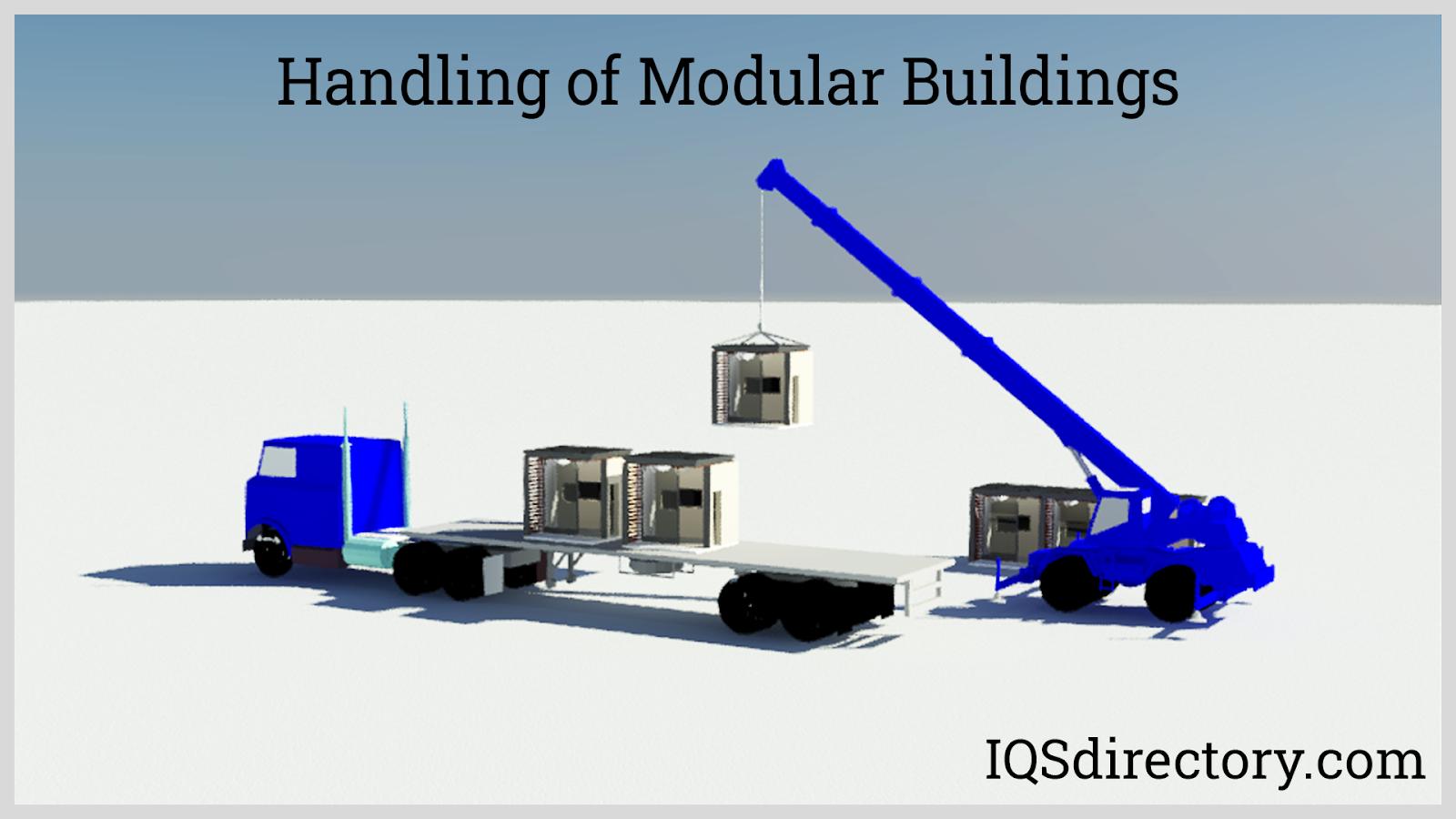 Handling of Modular Buildings