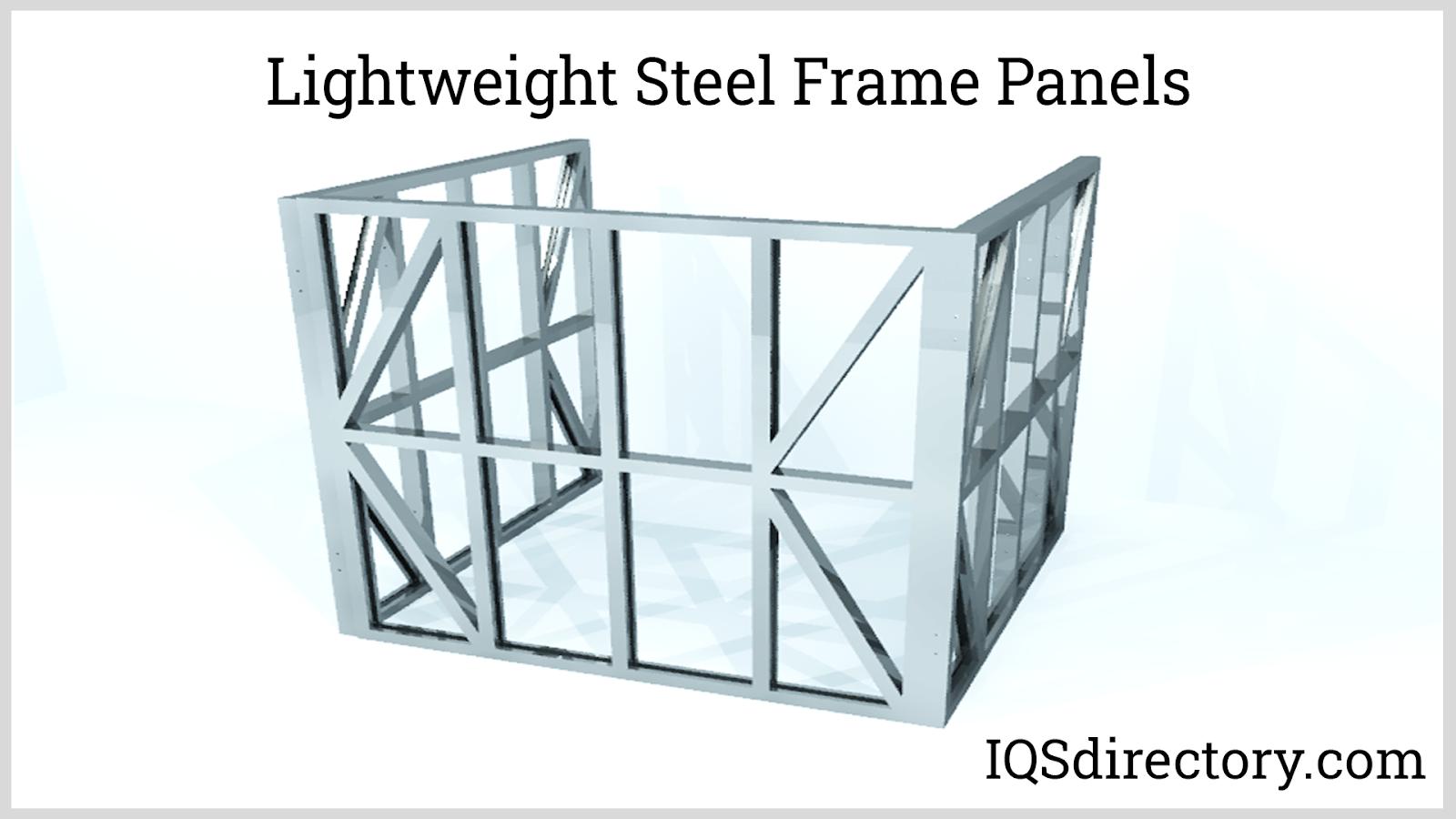 Lightweight Steel Frame Panels