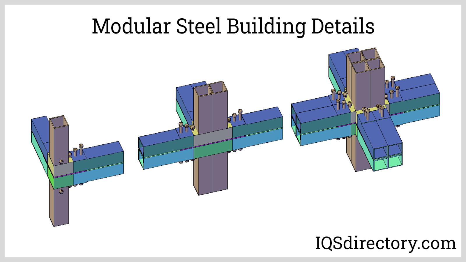 Modular Steel Building Details