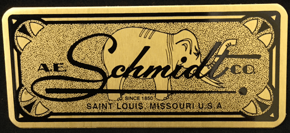 Etched Name Plate