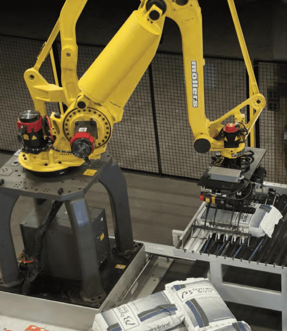 Articulated Robot Palletizer